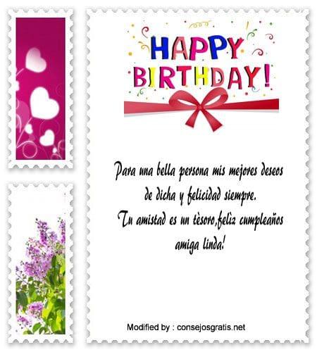 Mensajes Y Cartas De Cumpleaños Para Mi Mejor Amiga Con Imágenes