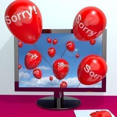 Como disculparme con mi pareja