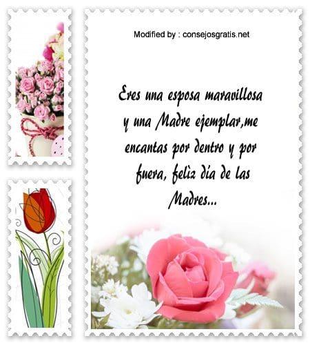 Mensajes Por El Dia De La Madre Para Tu Esposa Frases Por El Dia