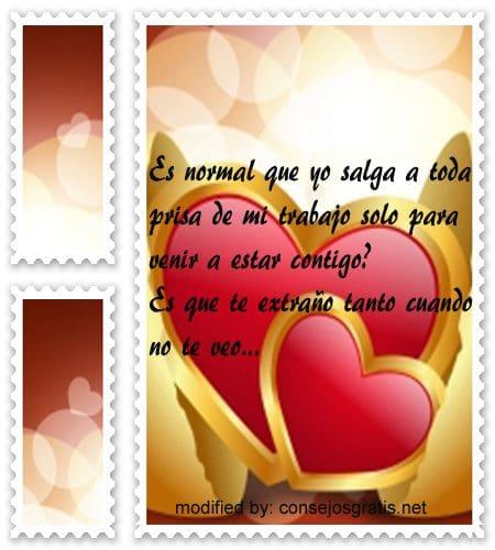 Mensajes de amor para mi esposa,textos de amor para enviar a mi esposa