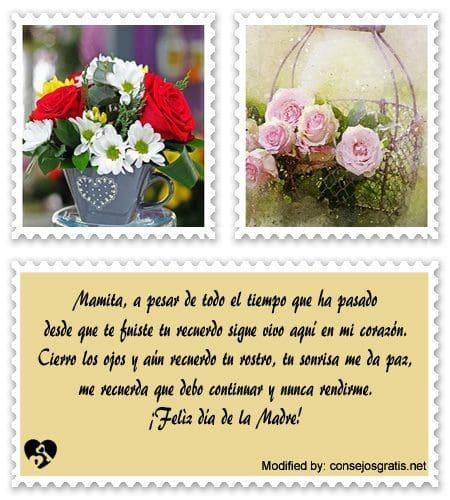Bellos Mensajes Para Dedicarle A Una Madre Frases De Amor