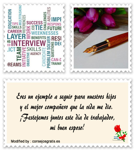 Originales Frases Para Tu Esposo Por El Día Del Trabajo