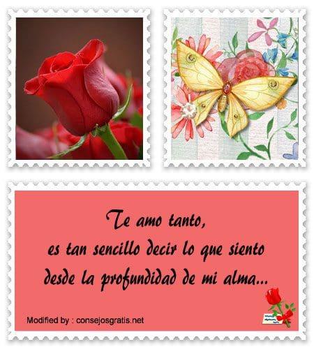 tarjetas con poemas de amor para mi enamorada