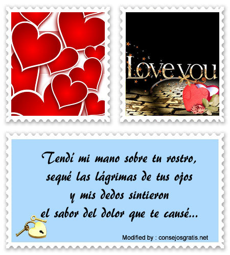 tarjetas con dedicatorias de amor para mi enamorada