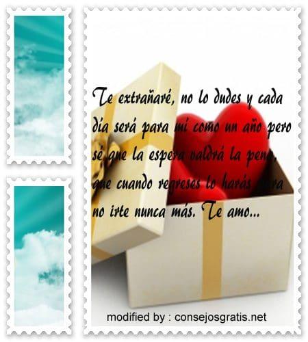Romanticas Frases Para Mi Amor Que Viaja Con Imagenes 10 000