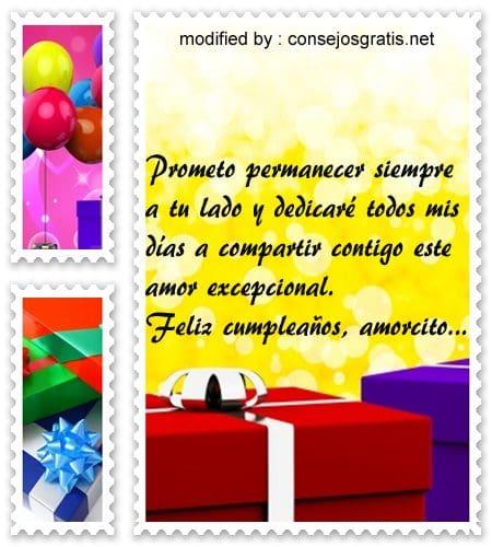 mensajes de cumpleaños,cordiales saludos de cumpleaños para dedicarle a mi pareja