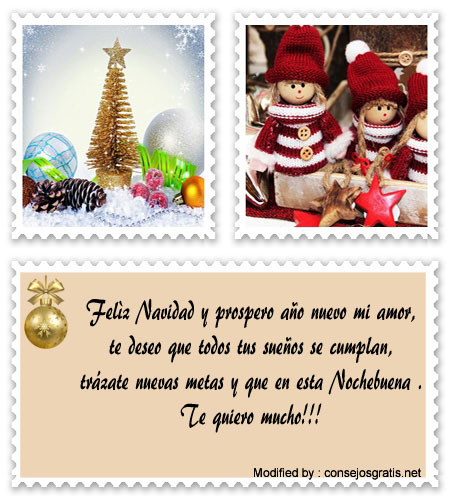 Tarjetas Y Frases De Navidad Para Novios Saludos De Feliz