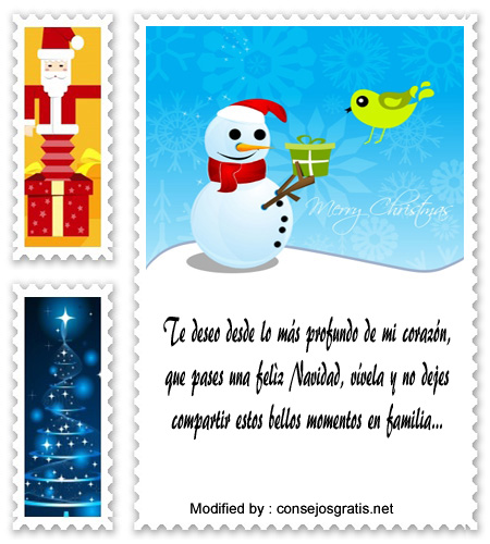 enviar de mensajes de Navidad por whatsapp a mi enamorada