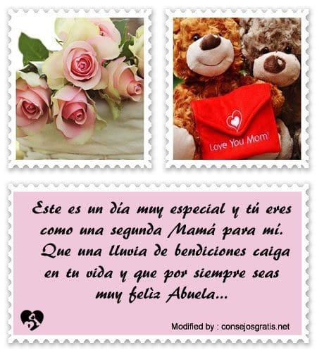 Bonitos Mensajes Por El Día De La Madre Para Mi Abuela Dia De La