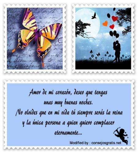 Enviar Mensajes De Buenas Noches A Mi Amor Frases Romanticas