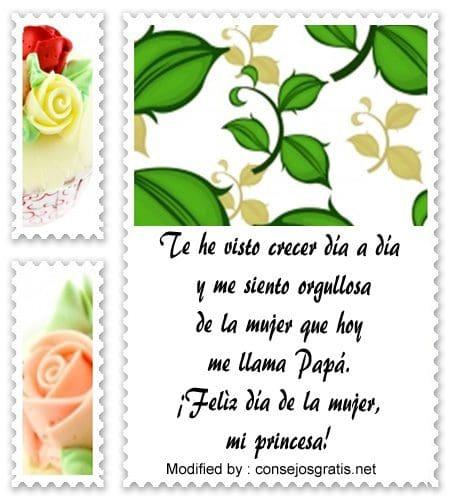 bonitas dedicatorias por el dia de la mujer para facebook, tarjetas por el dia de la mujer para facebook