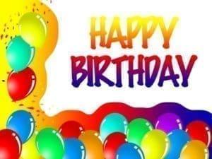 ejemplos de palabras de cumpleaños, compartir mensajes de cumpleaños