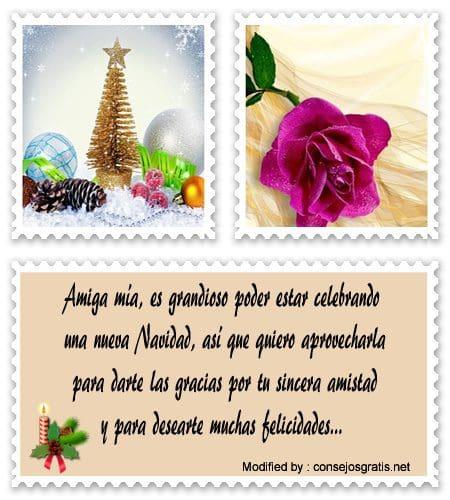 Bonitos Mensajes De Navidad Para Mi Mejor Amiga Saludos De