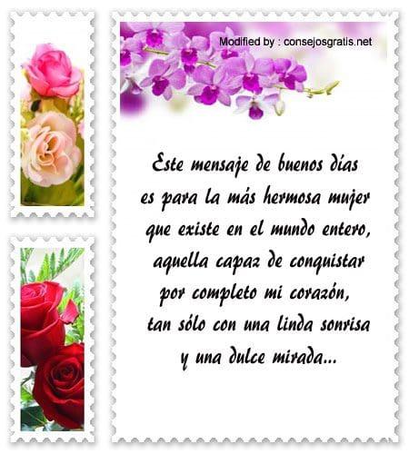 Lindos Mensajes De Buenos Dias Para Mi Amor Frases De Buenos Dias