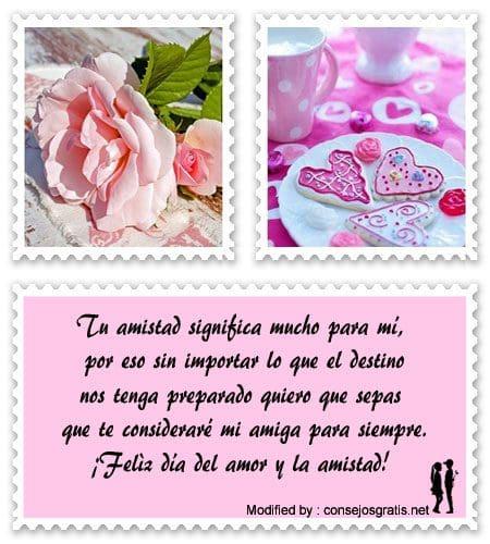 Bonitos Mensajes Por El Dia Del Amor Y De La Amistad Frases Para