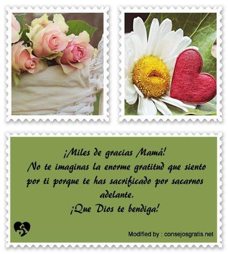 palabras para agradecer a mi Madre, pensamientos para agradecer a mi Madre