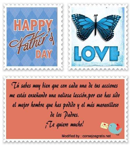 saludos para el dia del Padre,frases para el dia del Padre